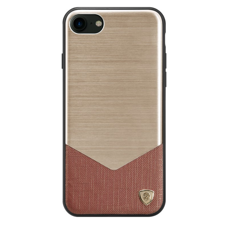 Husa Iphone 7 Nillkin Lensen Series - Gold