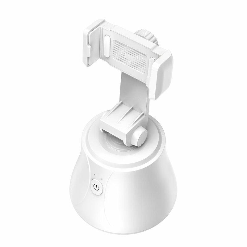 Gimbal Baseus, suport telefon birou 360°, YouTube, TikTok, alb, SUYT-B02
