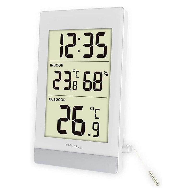 Termometru digital cu fir Techno line WS 7039, interior - exterior
