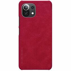 Husa Xiaomi 11 Lite 5G NE Nillkin QIN Leather - Rosu