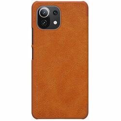 Husa Xiaomi 11 Lite 5G NE Nillkin QIN Leather - Maro