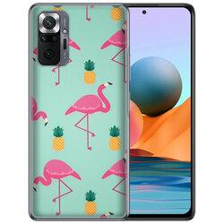 Skin Xiaomi Redmi Note 10 Pro Max - Sticker Mobster Autoadeziv Pentru Spate - Flamingo