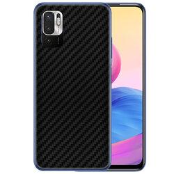 Skin Xiaomi Redmi Note 10 5G - Sticker Mobster Autoadeziv Pentru Spate - Carbon Black