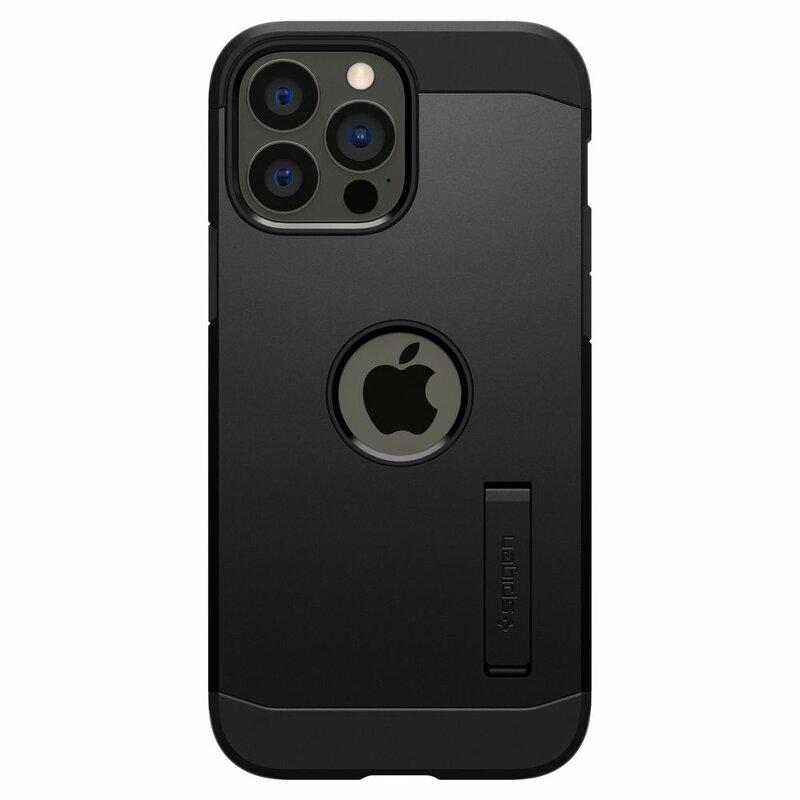 Husa iPhone 13 Pro Max Spigen Tough Armor - Black