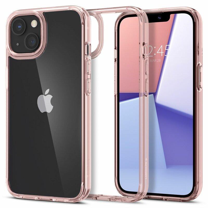 Husa iPhone 13 mini Spigen Ultra Hybrid - Rose Crystal