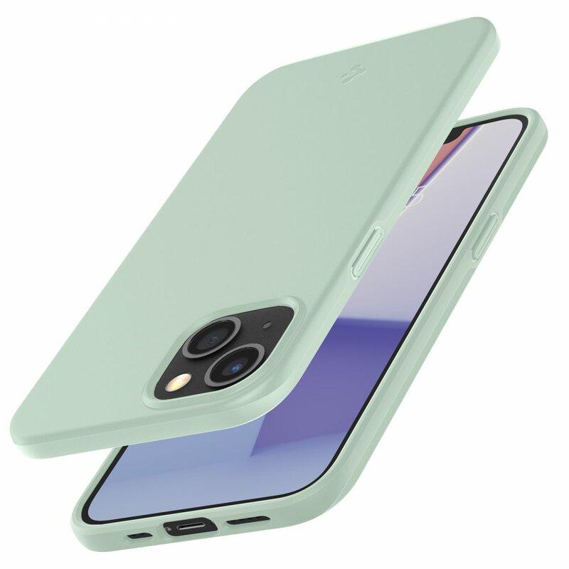 Husa iPhone 13 mini Spigen Thin Fit, Apple Mint