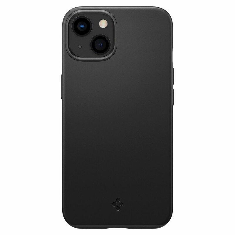 Husa iPhone 13 mini Spigen Thin Fit, Black