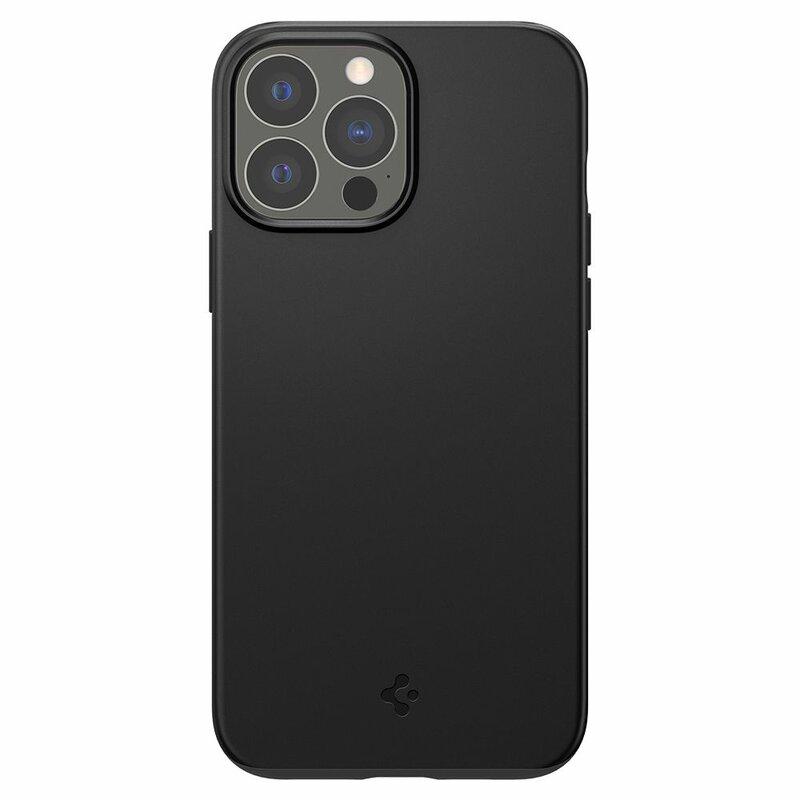 Husa iPhone 13 Pro Max Spigen Thin Fit, Black