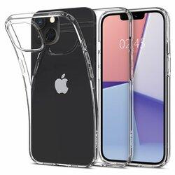 Husa iPhone 13 mini Spigen Liquid Crystal, Crystal Clear