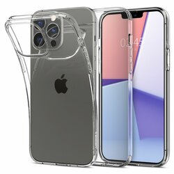 Husa iPhone 13 Pro Spigen Liquid Crystal, Crystal Clear