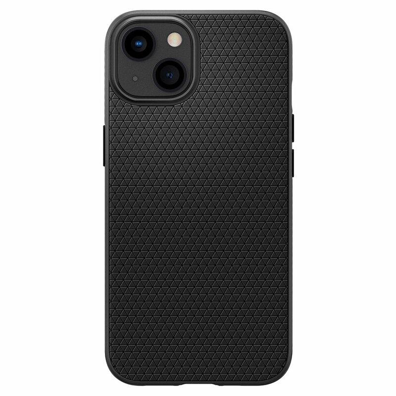 Husa iPhone 13 mini Spigen Liquid Air, matte black