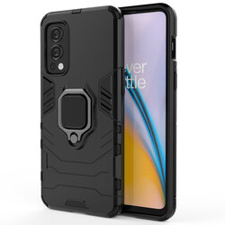 Husa OnePlus Nord 2 5G Techsuit Silicone Shield, negru