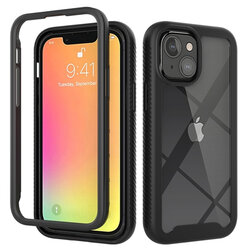 [Pachet 360°] Husa + Folie iPhone 13 Techsuit Defense, negru