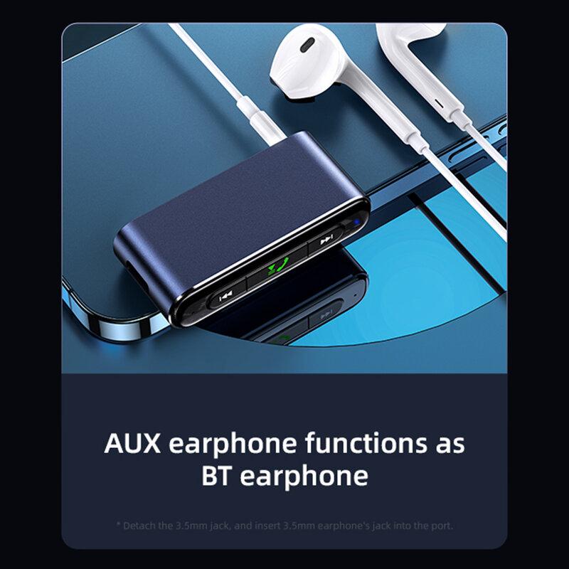 Receptor audio Bluetooth USAMS, transmitator wireless, negru, US-SJ519