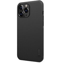 Husa iPhone 13 Pro Nillkin Super Frosted Shield Pro - Black