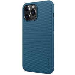 Husa iPhone 13 Pro Max Nillkin Super Frosted Shield Pro - Blue