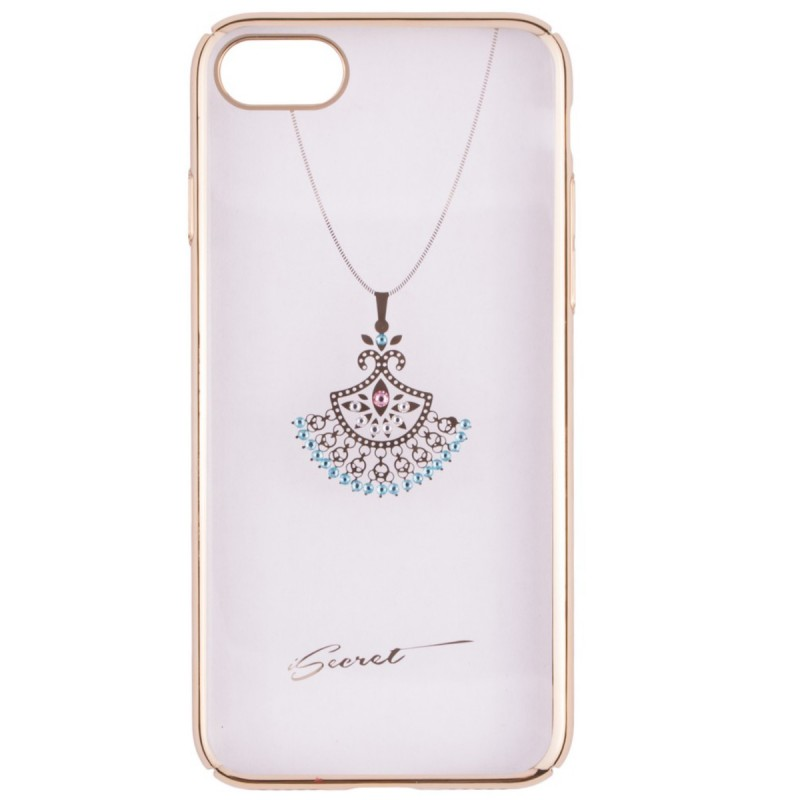 Husa iPhone 7 iSecret Necklace - Turquoise