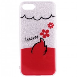 Husa iPhone 7 iSecret UltraSlim - Flowers