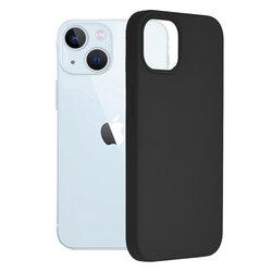 Husa iPhone 13 Techsuit Soft Edge Silicone, negru