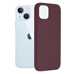 Husa iPhone 13 Techsuit Soft Edge Silicone, violet