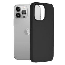 Husa iPhone 13 Pro Techsuit Soft Edge Silicone, negru