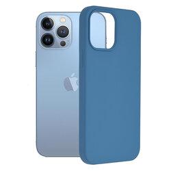 Husa iPhone 13 Pro Max Techsuit Soft Edge Silicone, albastru