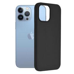 Husa iPhone 13 Pro Max Techsuit Soft Edge Silicone, negru