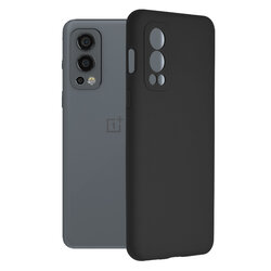 Husa OnePlus Nord 2 5G Techsuit Soft Edge Silicone, negru