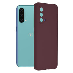 Husa OnePlus Nord CE 5G Techsuit Soft Edge Silicone, violet