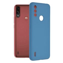 Husa Motorola Moto E7 Power Techsuit Soft Edge Silicone, albastru