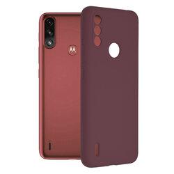 Husa Motorola Moto E7 Power Techsuit Soft Edge Silicone, violet