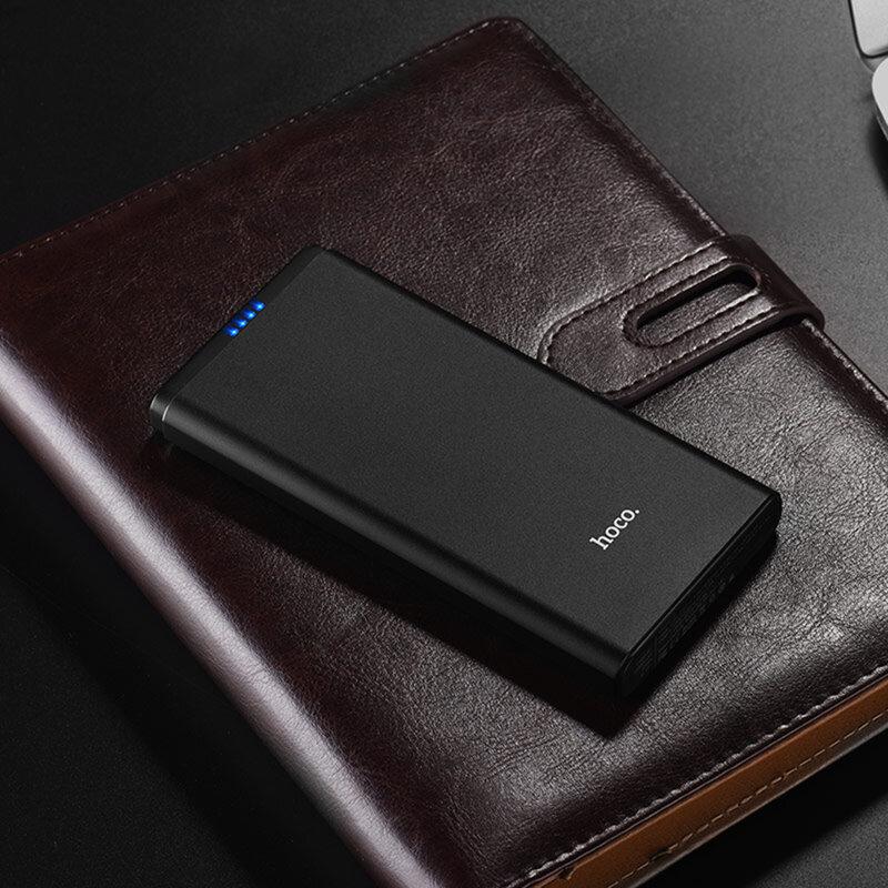 Baterie Externa 10000 mAh Hoco J2 Beibo Rapid Charging 2xUSB(QC 3.0) - Black