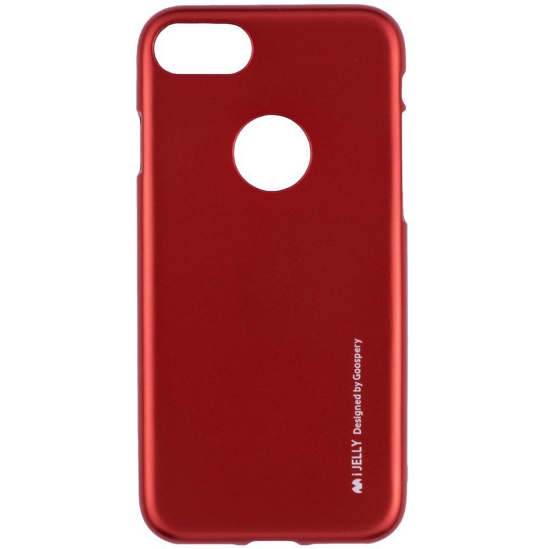 Husa iPhone 7 Mercury i-Jelly TPU - Red