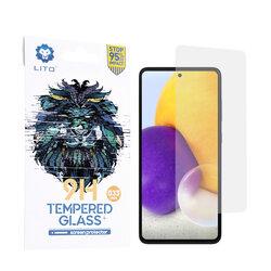 Folie sticla Samsung Galaxy A72 5G Lito 9H Tempered Glass, clear
