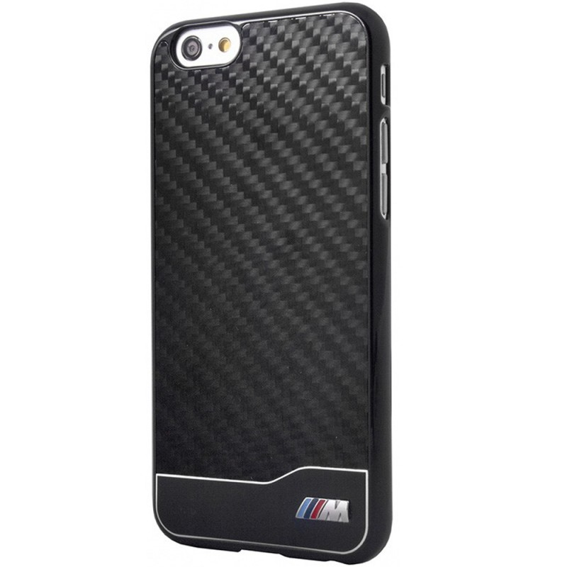 Bumper iPhone 6 BMW M Collection Carbon Aluminium - Negru