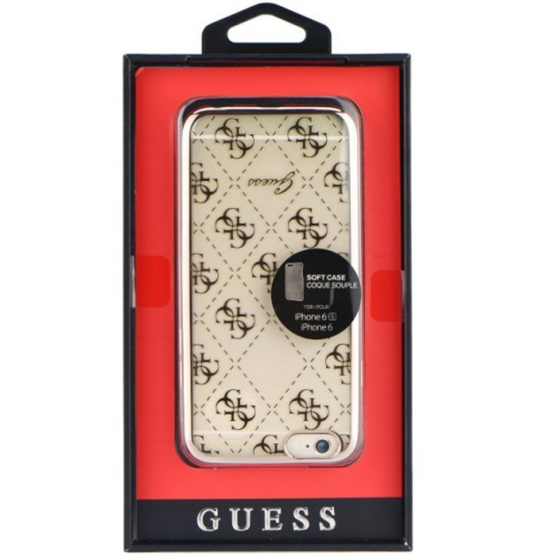 Bumper iPhone 6, 6s Guess - Gold GUHCP6TR4GRG