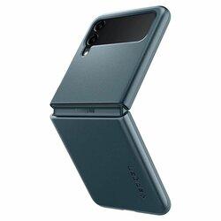Husa Samsung Galaxy Z Flip3 5G Spigen Thin Fit, verde inchis