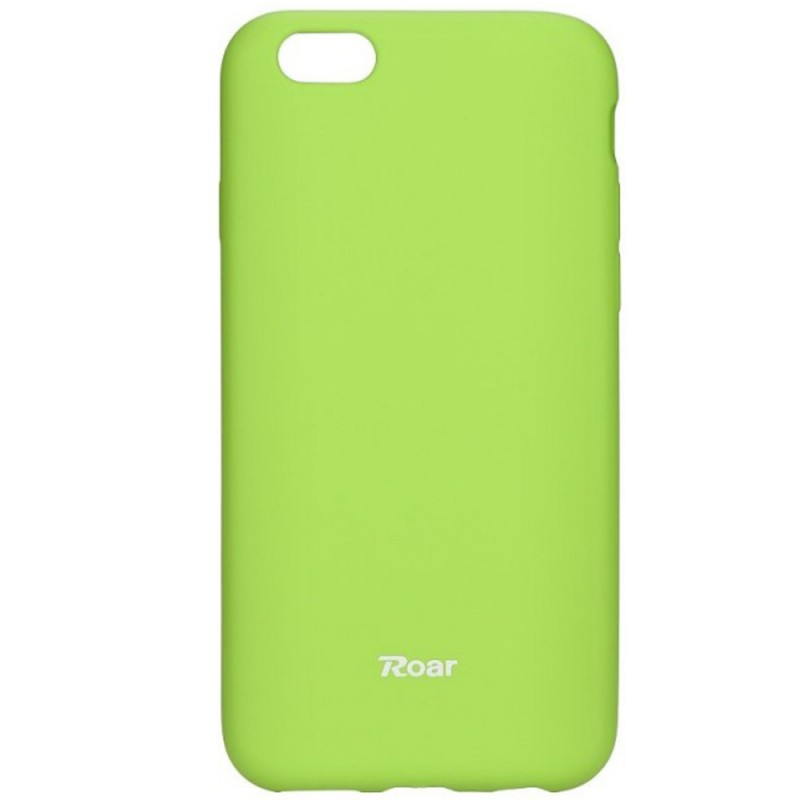 Husa IPHONE 6, 6s Roar Colorful Jelly Case Verde Mat