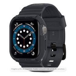 [Pachet carcasa + curea] Samsung Galaxy Watch4 Classic 42mm Spigen Rugged Armor Pro, gri