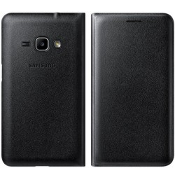 Husa Originala Samsung Galaxy J1 2016 J120 Flip Wallet Black