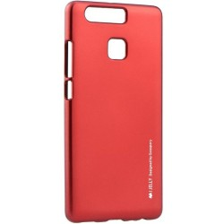 Husa Huawei P9 Mercury i-Jelly TPU - Red