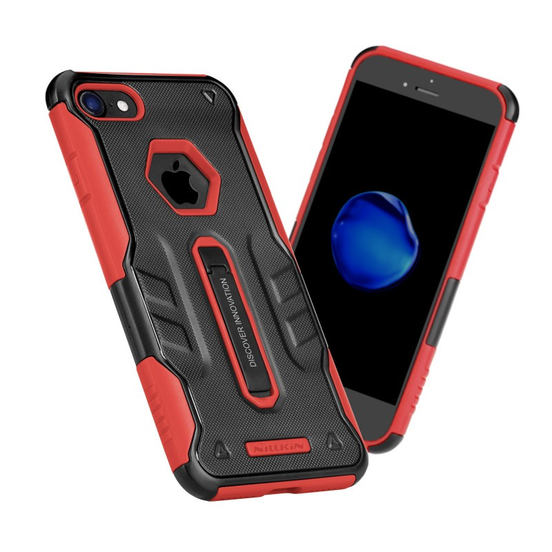 Husa iPhone 7 Originala Nillkin Defender 4 - Red