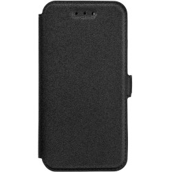 Husa Pocket Book Samsung Galaxy A3 2016 A310 Flip Negru