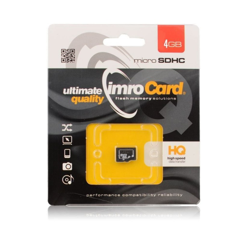 Card de memorie Imro Micro SDHC 8 GB Class 10 + Adaptor SD