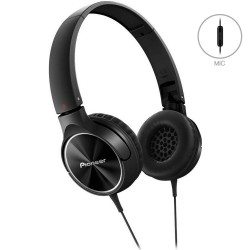 Casti On-Ear Cu Microfon Pioneer MJ522T-K - Black