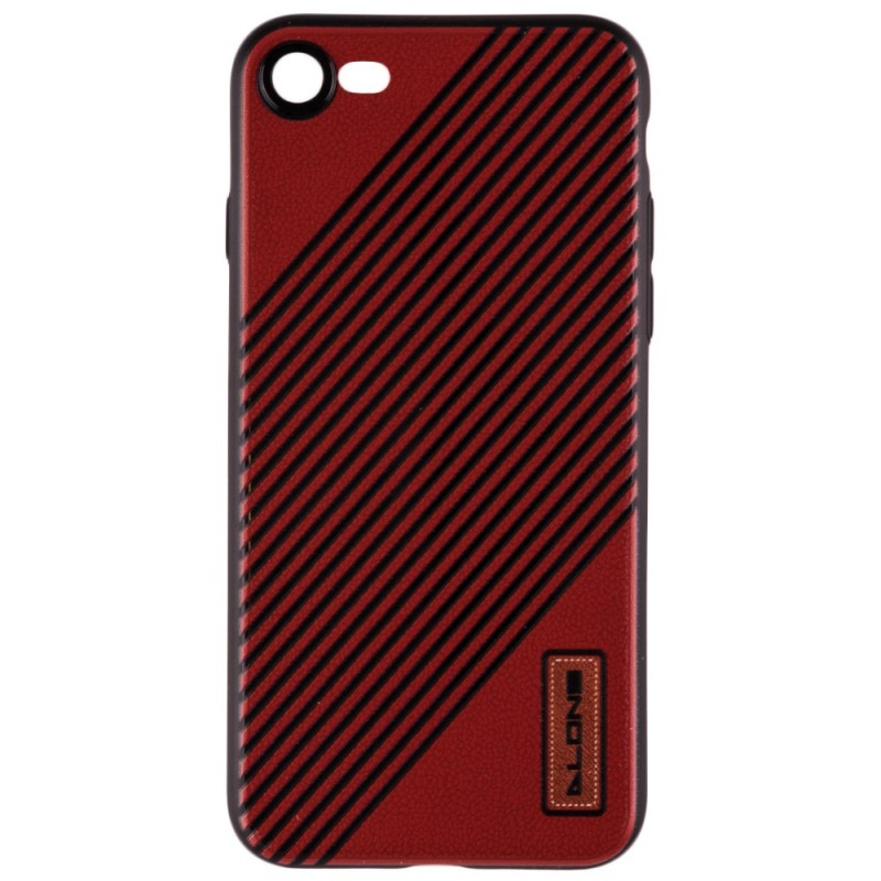 Husa iPhone 7 Dlons UltraSlim Red Stripes