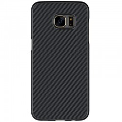 Husa Samsung Galaxy S7 Nillkin Synthetic Fiber - Black