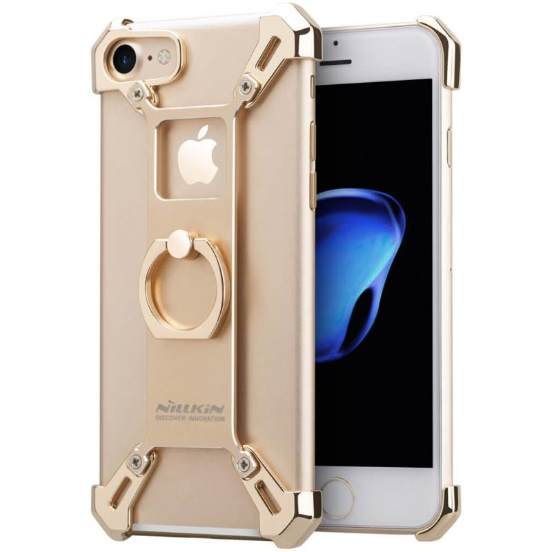 Husa Iphone 7 Nillkin Barde Metal Series - Gold