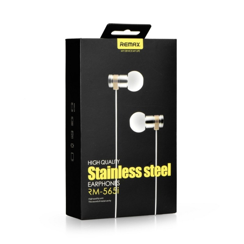 Casti In-Ear Cu Microfon Remax RM-565i - Silver
