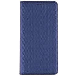 Husa Smart Book Huawei P10 Lite Flip Albastru